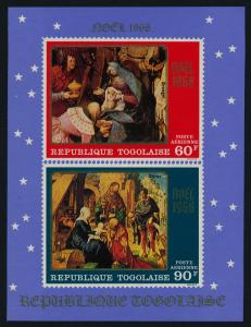 Togo C101a MNH Christmas, Art, Adoration of the Magi