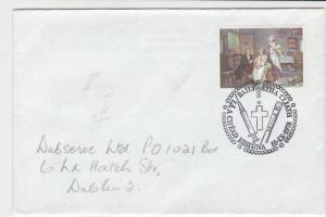 eire ireland 1978 holy cross needle paintbrush stamps cover ref 20327