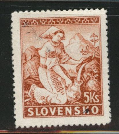 Slovakia Slovenska Scott 41 Used German Protectorate