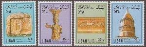 LEBANON - LIBAN MH SC# C722-C725