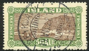 Iceland Scott 148 UF-VFH - Landing the Mail - SCV $2.25