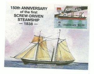 Kiribati 508   SS Mint NH VF  1988  PD