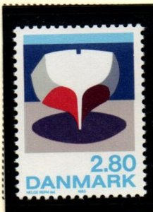 Denmark Sc 787 1985 Painting by Refn stamp mint NH