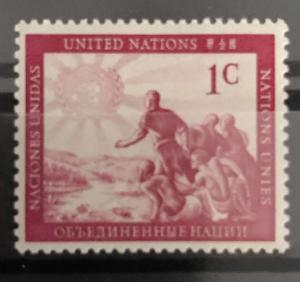 U.N. N.Y 1 MNH
