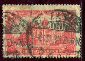 Germany; 1905: Sc. # 92 (# 75): O/Used Single Stamp
