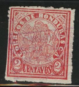 Honduras  Scott 245 Used stamp