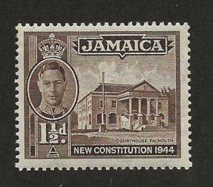 JAMAICA SC# 129b  FVF/MLH
