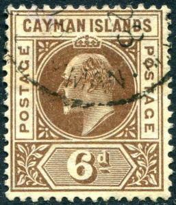 HERRICKSTAMP CAYMAN ISLANDS Sc.# 11 Used Scott Retail $45.00