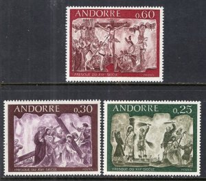 Andorra French 185-187 MNH VF