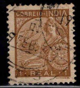 Portuguese India Scott 424 Used stamp