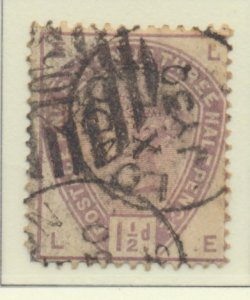 Great Britain Stamp Scott #99, Used, Thin Spots - Free U.S. Shipping, Free Wo...