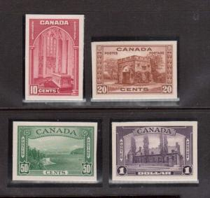 Canada #241P - #245P XF Mint Proof Set As Issued