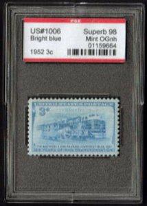 MALACK 1006 SUPERB OG NH, w/PSE (GRADED 98, ENCAPSUL..MORE.. g5108