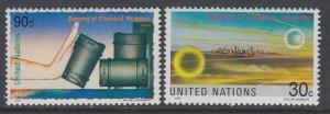 UN New York 595-596 MNH VF