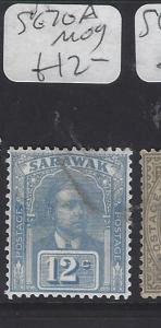 SARAWAK  (P2911B)  BROOKE  12C    SG 70A     MOG
