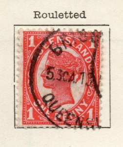 Queensland 1897 Early Issue Fine Used 1d. NW-113710