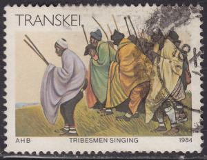 Transkei 146 Tribesmen Singing 1984