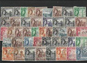Malta Used Queen Elizabeth II Stamps Ref 26325