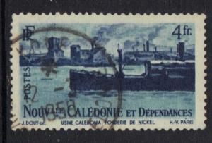 New Caledonia   1948   used    4f.     #