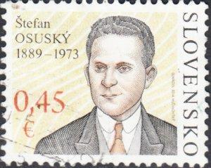 Slovakia  # 659 Used