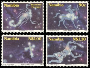Namibia 1996 Scott #808-811 Mint Never Hinged