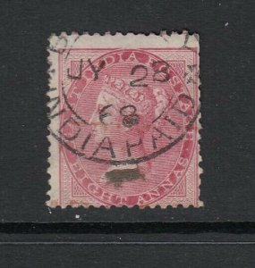 India, Sc 25 (SG 65), used (few short perfs)