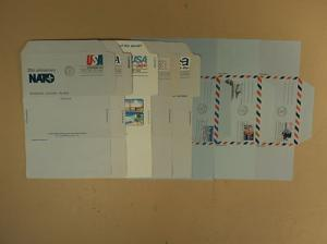 USPS Air Letter Sheets First Day of Issue Lot of 14 1950'...