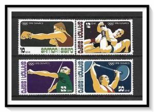 Samoa MNH 438-41 1976 Montreal Olympics