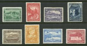 AUSTRALIA TASMANIA  SCOTT#86/93  MINT LH --SCOTT  VALUE $239.50