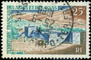 AFARS & ISSAS - 1968 - Yv.338 / Mi.13 25fr Ali Adde - Obl. TB