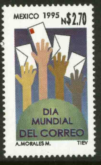 MEXICO 1928, World Post Day. MINT, NH. F-VF. (69)