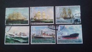 Great Britain 2013 Merchant Navy Used