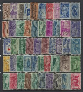 United States, Lot of 100 Stamps, Used