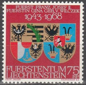 Liechtenstein #446   MNH  (S6270)