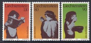 Liechtenstein 665-667 MNH VF