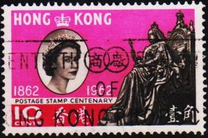 Hong Kong. 1962 10c S.G.193 Fine Used