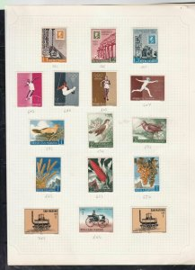 san marino stamps page ref 16854
