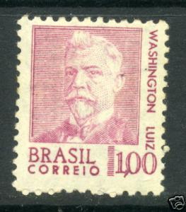 BRASIL Sc# 1066,1968 Washington Luiz MLH mint sound stamp