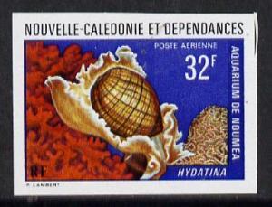 New Caledonia 1974 Marine Fauna 32f (Hydatina Shell) impe...