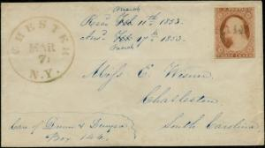 #11 ON COVER WITH PAID CANCEL RED & GREEN CV $144.00 BP7131