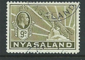 Nyasaland SG 121  Very Fine Used