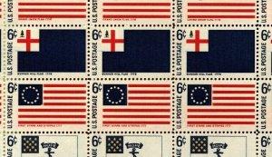 US SCOTT 1345-1354 Historic Flags  Mint NH Sheet of 50