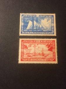 Monaco sc 237,240 MNH