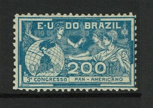 Brazil SC# 173, Mint Hinged, Hinge/Page Remnants, some minor toning - S9247