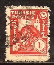 Tunisia  #  172  used