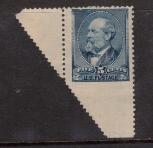 USA #216 Mint Imperf At Bottom Caused By Major Perf Shift Variety