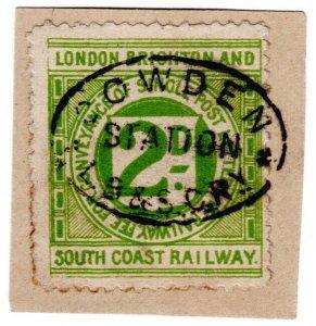 (I.B) London Brighton & South Coast Railway : Letter 2d (Cowden)