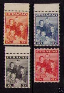 NETHERLANDS ANTILLES Sc# 170 - 173 MNH FVF Set4 Royal Family