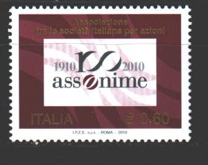 Italy. 2010. 3387. stockholders association. MNH.