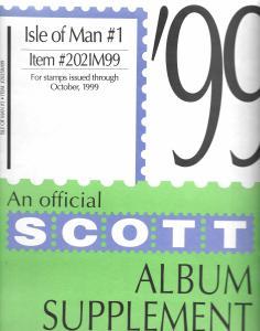 Scott Isle of Man #1 Supplement 1999